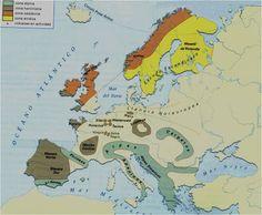 Formación del relieve europeo