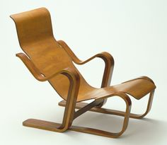 'Short Chair', Marcel Breuer, Manufactured by Isokon Furniture Co., London, 1936