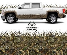 Realtree Max 5 Grassy Effect Lower Portion Kit for Extended Cab 4-Door Truck   #RealtreeMax5 #Realtreegear
