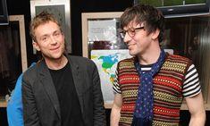 Graham Coxon and Damon(blur)Oh wow
