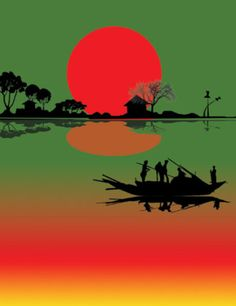 This is how beautiful the morning sun looks like it is the landscapes of Bangladesh Rose Gold Wallpaper, Sunset Wallpaper, Love Wallpaper, Village Photography, Moon Photography, Amazing Photography, Hipster Wallpaper, Cute Wallpaper Backgrounds, Beautiful Nature Wallpaper