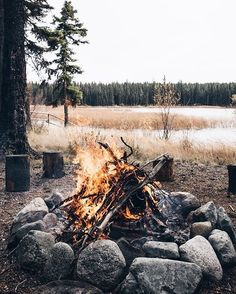 spend time by the campfire