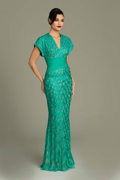 Embroidered Jovani gown