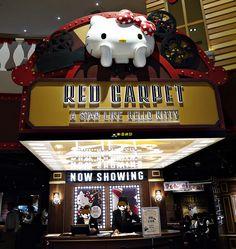 [食記]林口三井 Hello Kitty Red Carpet美式餐廳 /林口美食推薦 MITSUI OUTLET PARK
