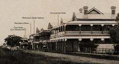 Commercial Hotel, Coraki Historical Pictures, Rivers, Old Photos, Past, Commercial, Australia, History, Projects, Old Pictures