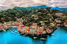 Beautiful Portofino Italy.