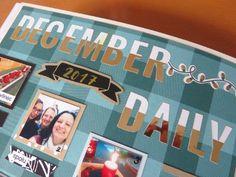 Happy Mail Ninja: December - My December Daily - Smashbook 12/2017