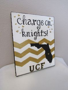 8x10 University of Central Florida Collegiate Canvas by TheSpiritoftheSouth on Etsy https://www.etsy.com/listing/243022504/8x10-university-of-central-florida