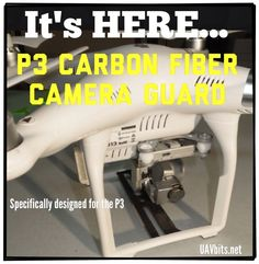 #DJI #P3 Camera Guard You asked for it... We got it! uavbits.net #UAV #dronelife Crash Protection :)