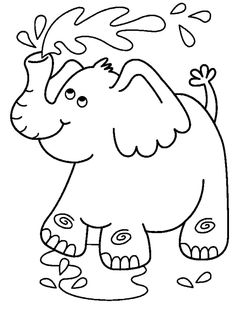 Disegni da colorare per bambini. Colorare e stampa Animali 262