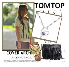 """TOMTOP + 1"" by emily-5555 ❤ liked on Polyvore featuring Rika, tomtop and tomtopstyle"