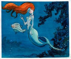 Little Mermaid concept art