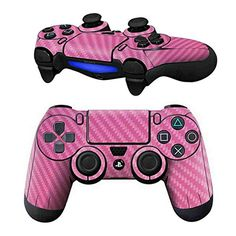 Mod Freakz Pair of Vinyl Controller Skins  Pink Carbon Fiber for Playstation 4 ** Read more  at the image link.Note:It is affiliate link to Amazon.
