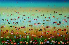 Yulia Muravyeva Schilderij Lyrisch abstract