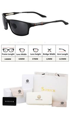 cfe0d13882 Golf Clothing     SOXICK Mens Polarized Sunglasses Driving Fishing  Lightweight Metal Frame     You can obtain even more information by  clicking on the ...