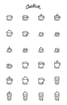 Freebie: High-Quality Coffee Shop Icon Set (SVG, AI, EPS & PNG)