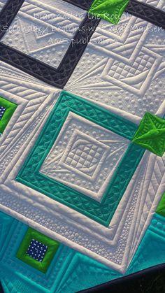 https://flic.kr/p/PZPpKW | Diamond3 | Diamond in the Rough pattern by Judi Madsen in Secondary Designs with Judi Madsen book. AQS publishing