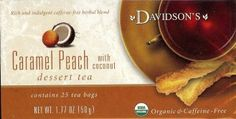 Caramel  Peach With Coconut - Davidson's
