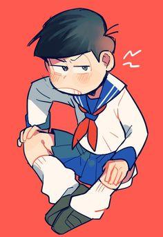 埋め込み画像 Ichimatsu, Face Claims, Anime Boys, Fanart, Geek Stuff, Draw, Cute, Adventure, Sleeves