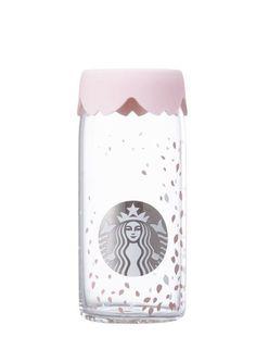 [STARBUCKS] 2017 Cherry Blossom Petal Glass 473ml Spring Limited Edition #starbucks