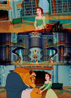 Beauty and the Beast (1991) #waltdisney