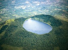 Volcan de Ipala - Located in Chiquimula, Guatemala Hiking Places, Places To Travel, Places To See, Tikal, Travel Around The World, Around The Worlds, Guatemala City, Central America, South America