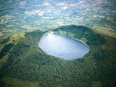 Estar allí y olvidar todos tus problemas <3 #Guatemala - Laguna de Ipala