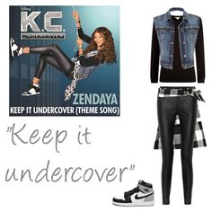 """""""Keep It Undercover"""" from K.C. Undercover by clarammsousa"""