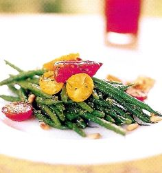 Pesto Green Beans with Three Types of Tomatoes — Foster's Market