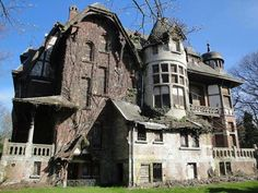 This house is confused, is it a Tudor or a Victorian