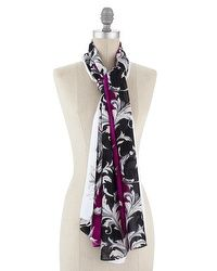 Scarf tying videos.  http://www.whitehouseblackmarket.com/store/browse/shelf.jsp?cat=Shoes++Accessories+Scarves++Wraps=cat210018=cat210019#