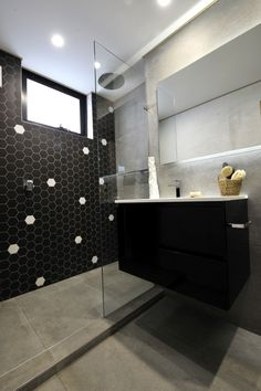 See The National Tiles Hexatile Range To Create A Similar Look. Bathroom  Tile Designs,