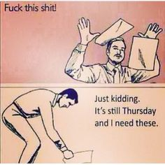 Some office humor for you on this Thursday morning (pardon the language). #almostfriday #officehumor