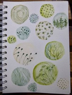 Words and Pictures: Doodling with watercolour