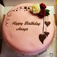 happy birthday anaya video and images happy birthday chocolate
