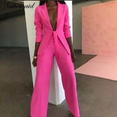 Casual Blazer, Casual Suit, Casual Wear, Dress Casual, Formal Pant Suits, Mode Outfits, Fashion Outfits, Womens Fashion, Office Outfits