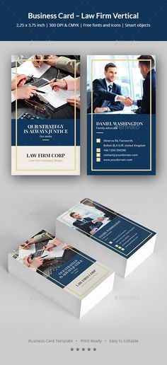 King Law Firm Lawyer, Photoshop and Business cards - law firm brochure