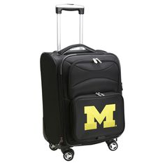 NCAA Michigan Wolverines Carry-On Spinner