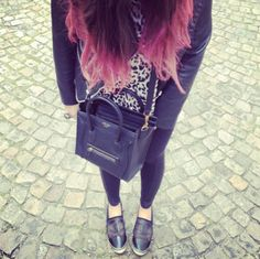 La vie en rose // Travel by #Anticocotte - #fashion #pinkhair #ombrehair #streetlook