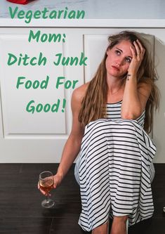 Vegetarian Mom: Ditch Junk Food For Good!  I'm Katy, mum of two girls.   I feel you. You think you're too busy with the kids to think of yourself. You grab snacks on the go, and bung freezer food in the oven because it's easy. I've been there too!   Despite having the life of a busy mom, I live without convenience foods, prep easy healthy meals.. and most importantly, enjoy it!  So how do I manage to stay healthy without resorting to junk food? I created a simple action plan to get you…