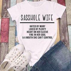 Sasshole Wife SVG cut file for cricut or silhouette Digital
