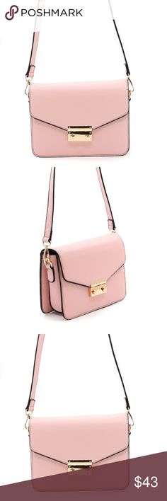 Envelope Style Crossbody Clutch Purse Light Pink THIS LISTING IS FOR THE  PINK PURSE. THE ef4b99c80649d