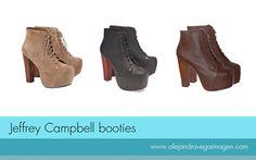 Jeffrey Campbell es una firma americana, nacida en California que hace algún tiempo saco a la venta estos originales botines que han sido todo un éxito y son el must have de las bloggers.