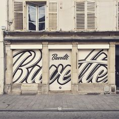 """By @maztrone via Instagram  """"What about this street mock-up done for @buvette_nancy?"""""""