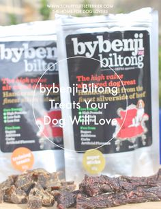 bybenji Biltong, Natural Treats Your Dog Will Love - Scruffy Little Terrier Silverside Beef, Dog Nutrition, Biltong, Beef Jerky, Bite Size, Treat Yourself, Yummy Snacks, Dog Treats, Dog Food Recipes