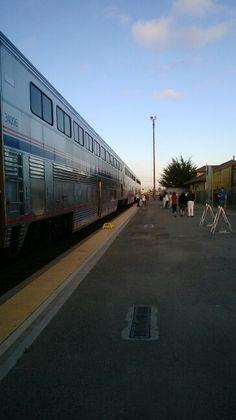 Train 14 at Salinas, CA (SNS)