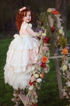 "Take a look at Love Baby J's beautiful couture flower girl dress called ""Eternal Fairytale. Little Girl Photos, Baby Girl Photos, Girl Pictures, Flower Girl Photos, Girl Photography, Photography Props, Children Photography, Photography Tutorials, Fashion Photography"