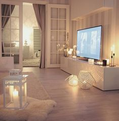 """Living room – individual products in the folder """"Pink Powder"""" - Home Page Cozy Living Rooms, Home Living Room, Apartment Living, Interior Design Living Room, Living Room Designs, Living Room Decor, Bedroom Decor, Design Interiors, Cosy Interior"""