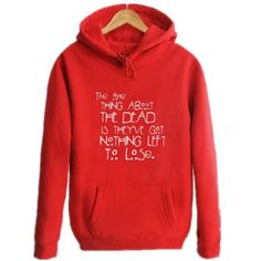 American Horror Story pullover hoodie with fleece lined for men