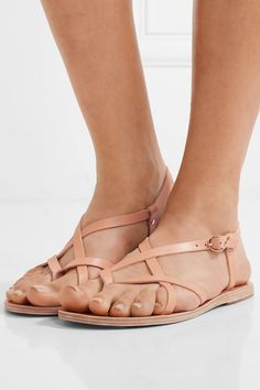 b4f32357219e80 Ancient Greek Sandals - Semele leather sandals